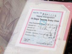 Visado de Nepal on arrival en el aeropuerto de Kathmandu paso a paso