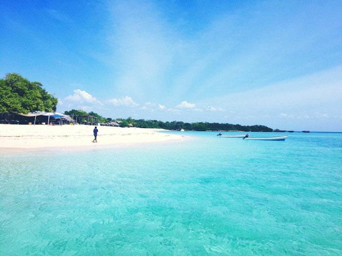 Paje beach, en Zanzíbar