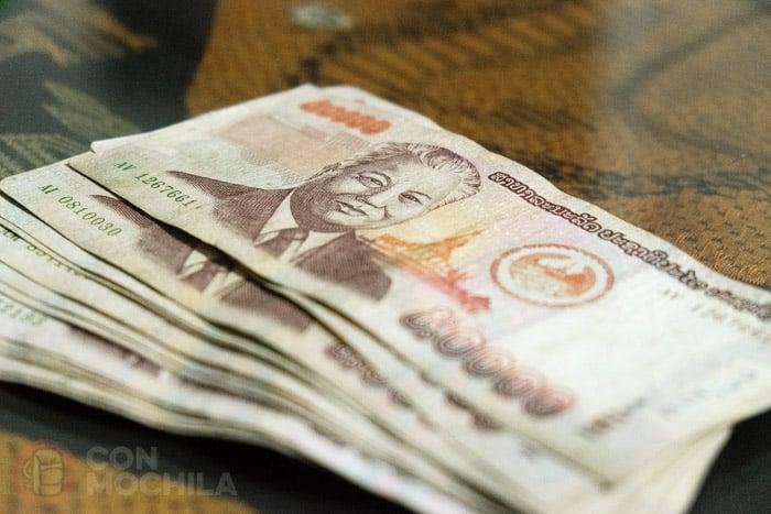 El kip la moneda de laos y los cajeros autom ticos for Dinero maximo cajero