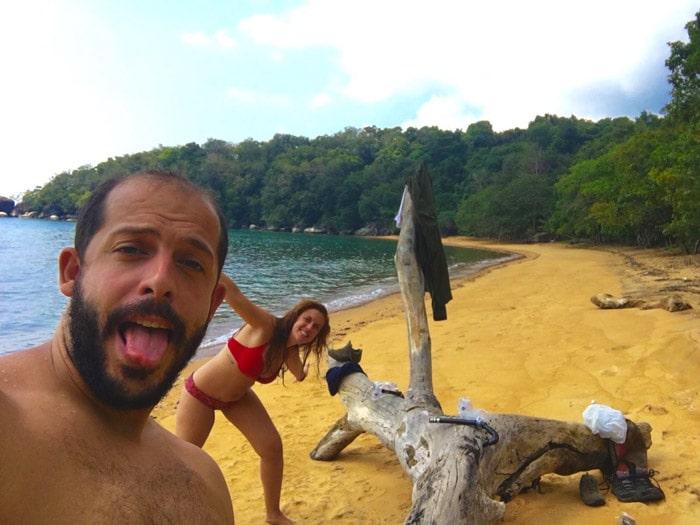 Itinerario de viaje a Malasia: Monkey Beach en Pulau Tioman