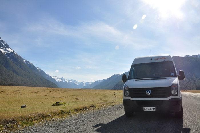 Itinerario de viaje a Nueva Zelanda: La caravana y la inmensidad