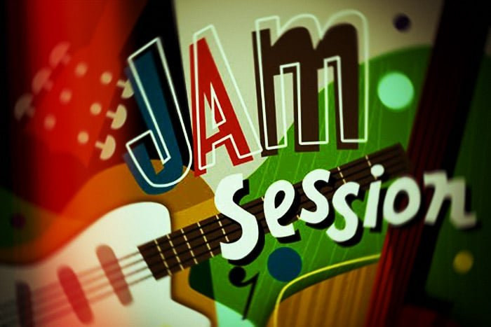 "Una de esas ""jam session"""