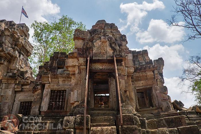 Otra imagen de las ruinas
