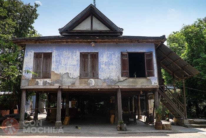 La casa antigua Khor Song en Battambang