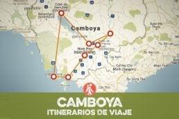 Itinerarios de viaje a CAMBOYA