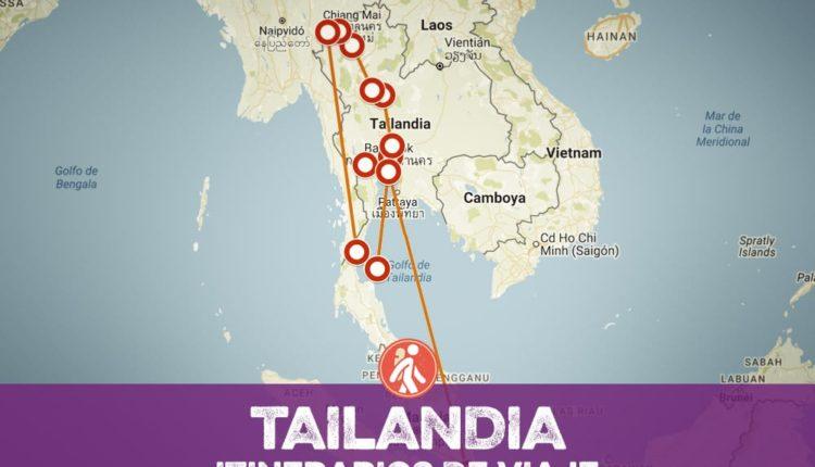 Itinerarios de viaje a TAILANDIA