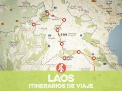 Itinerarios de viaje a Laos para mochileros o viajeros por libre