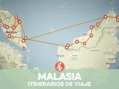 Itinerarios de viaje a Malasia para mochileros o viajeros por libre