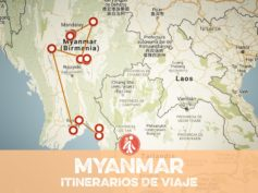 Itinerarios de viaje a Myanmar para mochileros o viajeros por libre