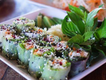 Aum Vegetarian, opción vegetariana barata en Chiang Mai