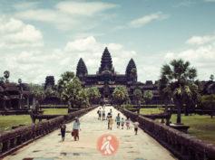 Los templos de Angkor con mochila