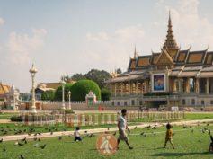 Phnom Penh con mochila