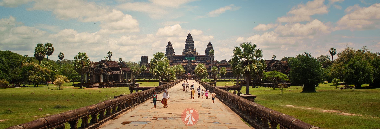 Los templos de Angkor de Camboya
