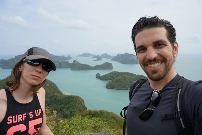 itinerario de viaje a Tailandia: Mirador en Ko Wua Talap