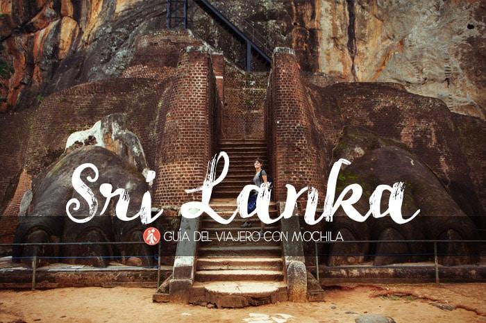 Guía de viaje a Sri Lanka para viajar por tu cuenta