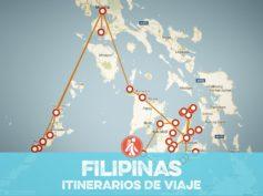 Itinerarios de viaje a Filipinas para mochileros o viajeros por libre