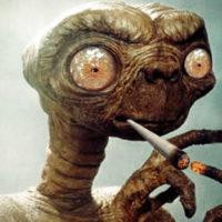 La crónica cósmica. ¡Y dicen que fumar no es sano!