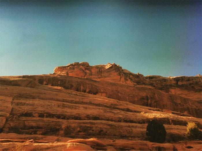 La inmensidad del Colorado a través del tren.