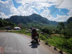 Etapa 2: Luang Namtha – Nong Khiaw. Ruta en moto por Laos