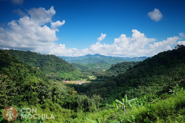 Uno de los bellos paisajes