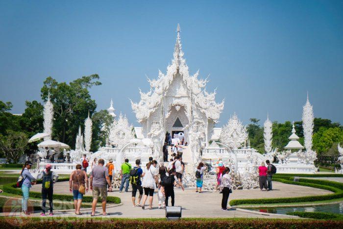 El templo blanco de Chiang Rai