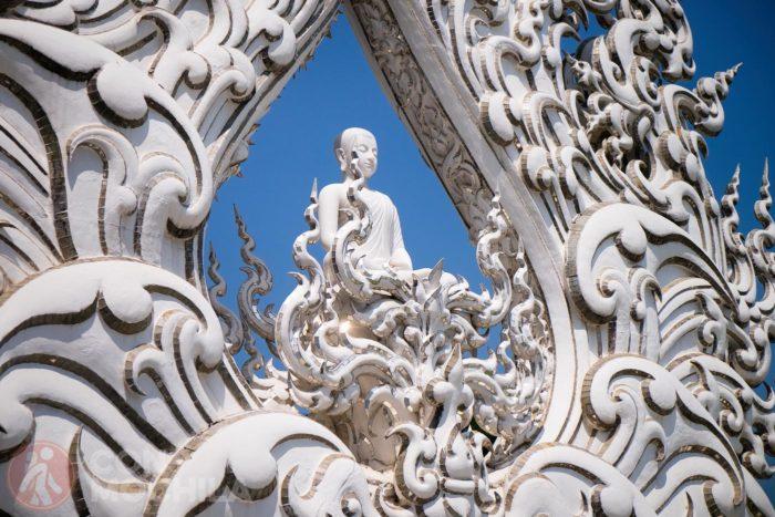 Un detalle de Buda
