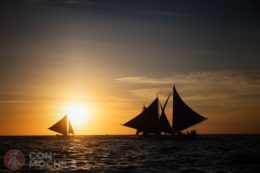 Atardecer en barco de vela 4