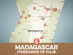 Itinerarios de viaje a Madagascar para mochileros o viajeros por libre