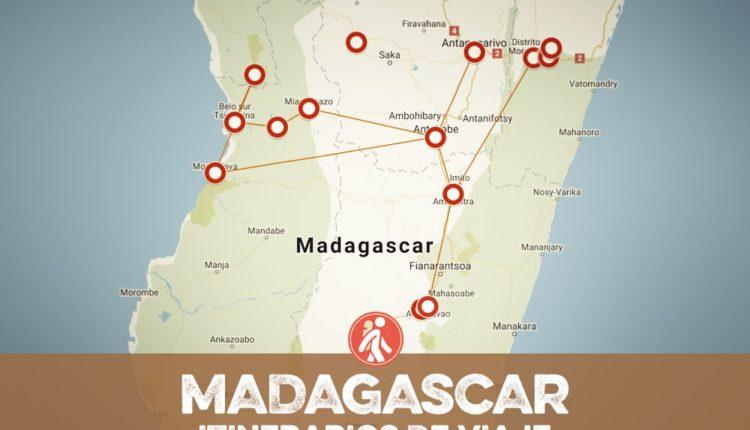 ITINERARIOS DE VIAJE a MADAGASCAR
