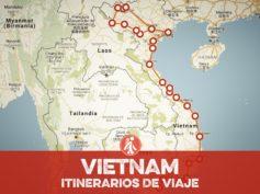 Itinerarios de viaje a Vietnam para mochileros o viajeros por libre