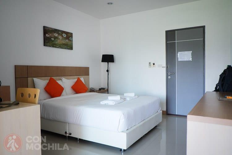 La habitación del hotel