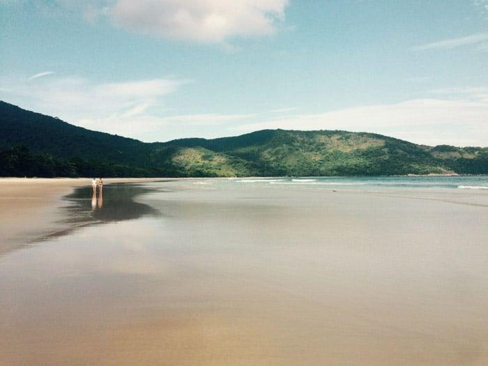 Itinerario de viaje a Brasil: Praia Lopes Mendes