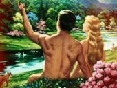 La crónica cósmica. El papanatas de Adán y la marchosa Eva
