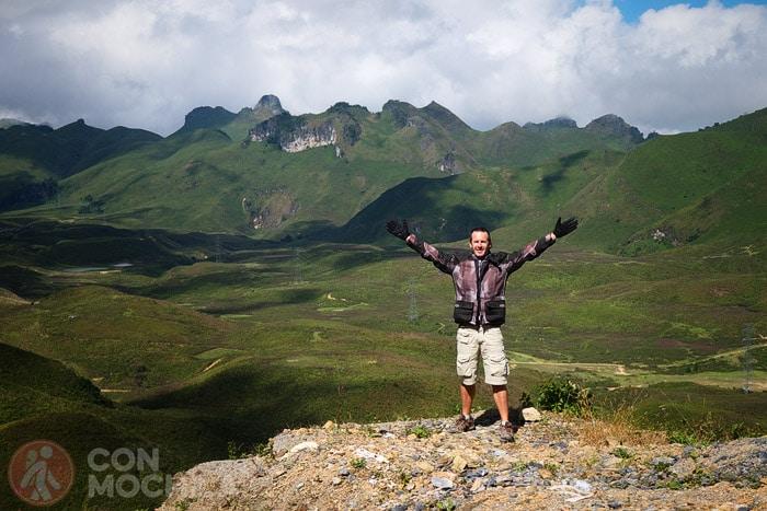 ¡Y qué montañas!