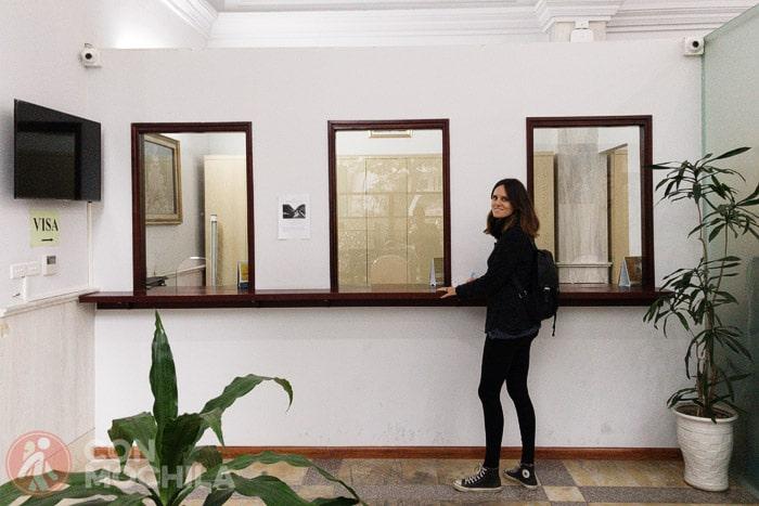 Las ventanillas donde se gestiona el visado de Tailandia