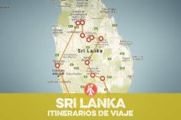 SRI LANKA ITINERARIOS DE VIAJE