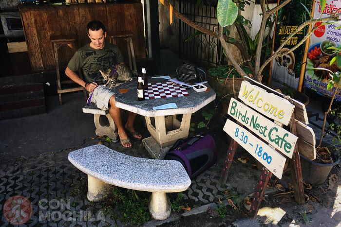 En el Bird Nest con Songkran