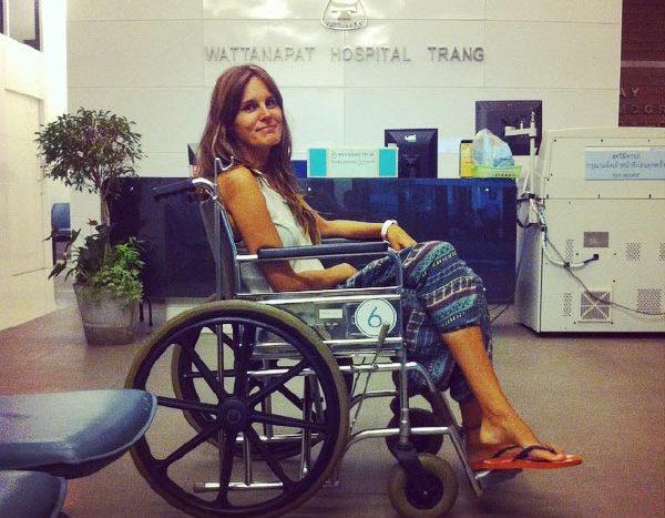 IATI Seguros opinones: Carme utilizando el seguro de viaje
