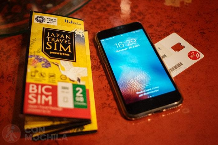 SIM con internet en Japón de la mano de IIJmio