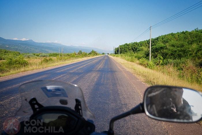 La carretera hacia Paxsan