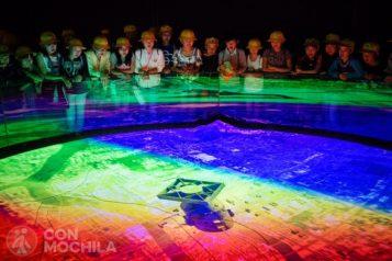 Recreación de la bomba atómica de Hiroshima