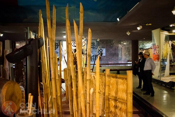 Interior de una de las salas del museo