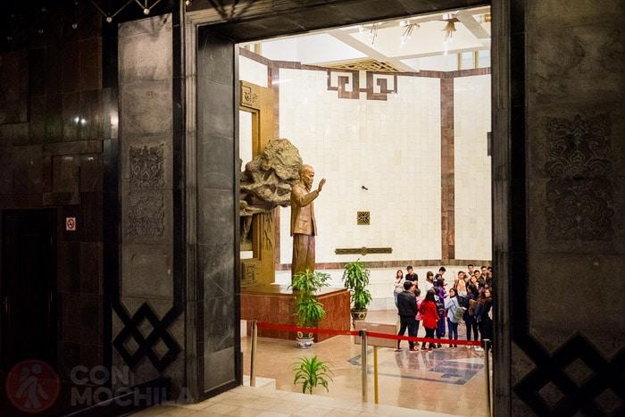 Despedida del museo Ho Chi Minh