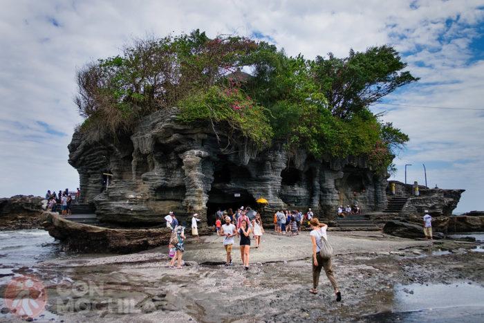 Más vistas de Tanah Lot