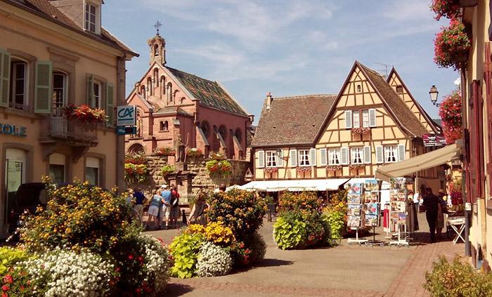 Eguisheim (Alsacia francesa)