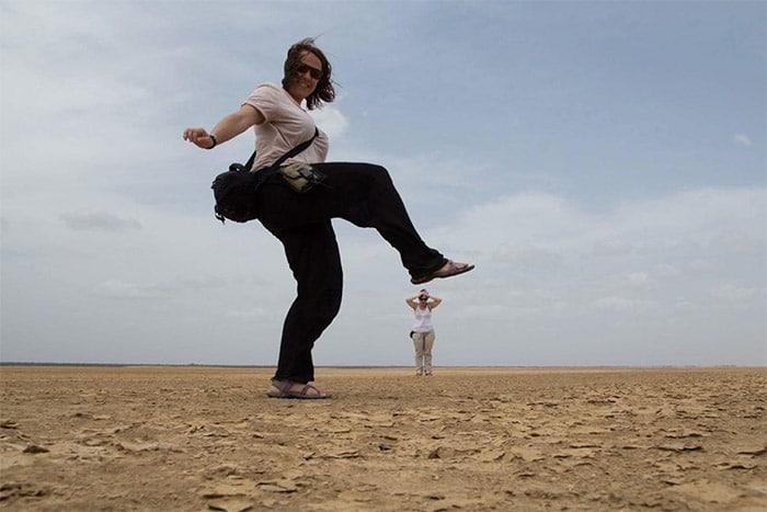 Itinerario de viaje a Colombia: En el desierto de la Guajira, donde se encuentra el punto más norte de Sudamérica