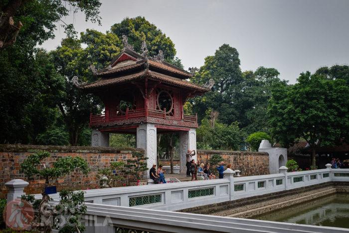 El tercer patio que se accede por el pabellón Khue Van dando