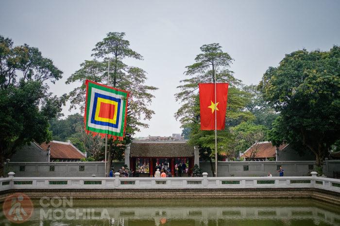 Puerta de Dai Thanh que da acceso al cuarto patio