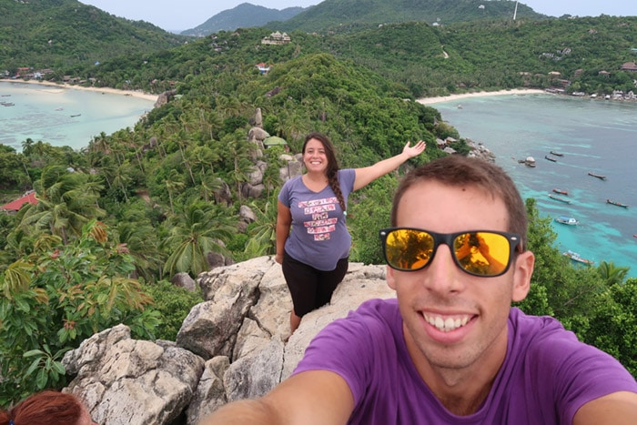 Itinerario de viaje a Tailandia: Mirador Koh Tao