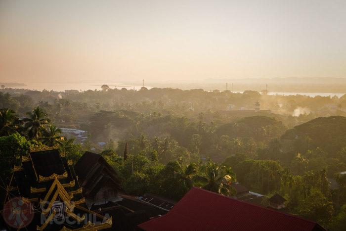 Vistas de la ciudad de Mawlamyine